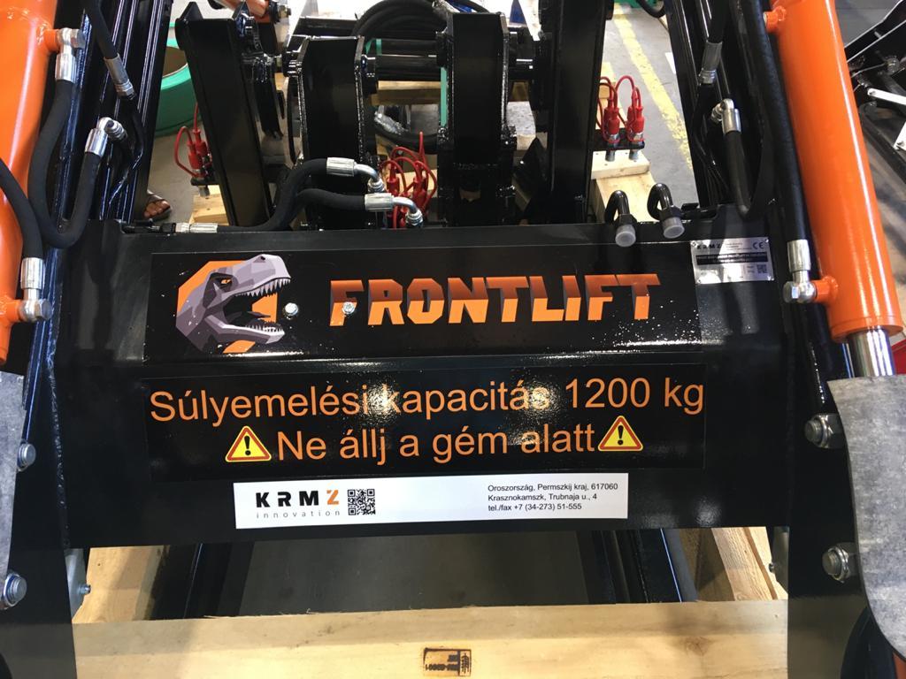 Погрузчик Frontlift для Венгрии